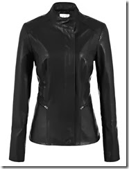 Reiss Black Leather Jacket