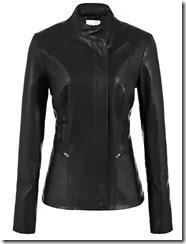 Reiss Black Leather Jacket
