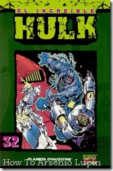 P00032 - Coleccionable Hulk #32 (de 50)