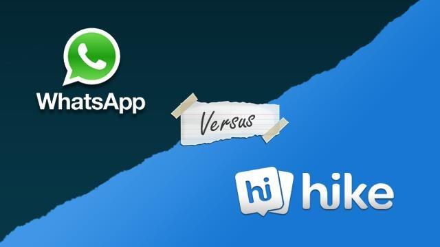 Hike-Vs-Whatsapp-messenger