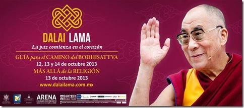 Dalai Lama compra superboletos en linea