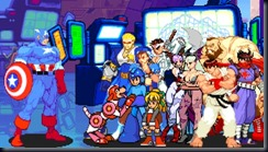 Marvel vs Capcom, Clash of Super Heroes, Finais, Capitão América