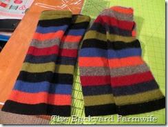 scarves & legwarmers - The Backyard Farmwife