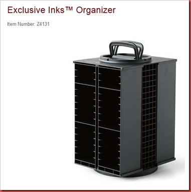 Inks Organizer