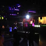 parapara dancers on stage in Shinjuku, Tokyo, Japan