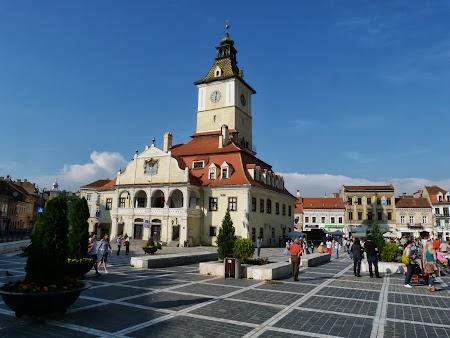 Obiective turistice Brasov: Piata Sfatului