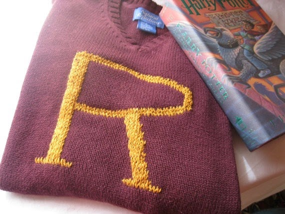 Harry Potter - Customer Weasley Sweater from Sew Ecological