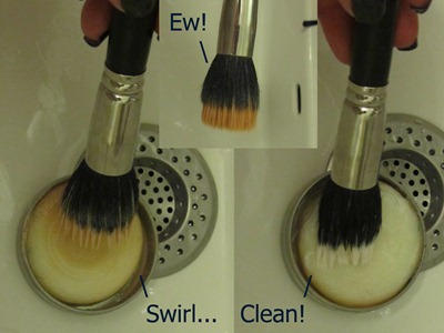 How To Wash & Dry Your Make-Up Brushes - Cleaning