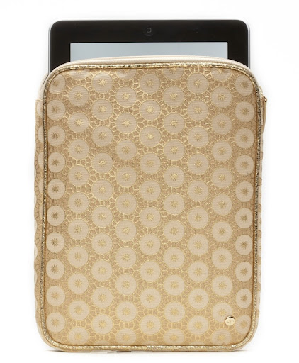 Stephanie Johnson Mumbai Buff iPad case. (stephaniejohnson.com)