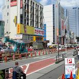 construction in Harajuku in Harajuku, Tokyo, Japan