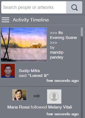 touchtalent-activity-timeline