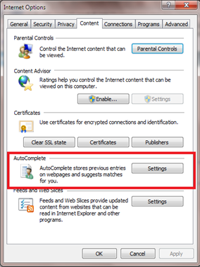 การตั้งค่าบราวเซอร์ internet explorer