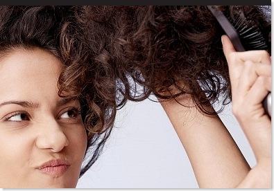 hair in tangles