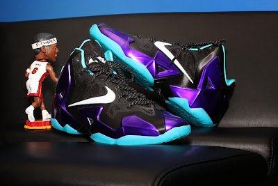 nike lebron 11 id production hornets 1 07 NIKEiD LeBron 11 Summit Lake Hornets Build by PPumper