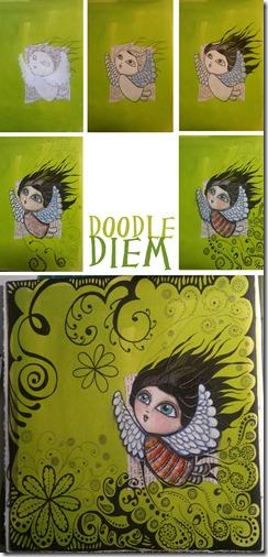 Green DoodleGirl