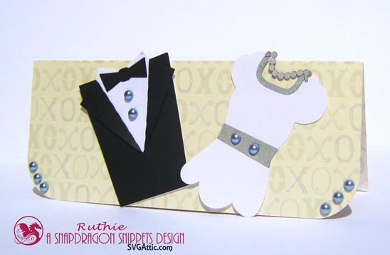 $20 gift envelope - Wedding gift card - SnapDragon Snippets - Ruthie Lopez