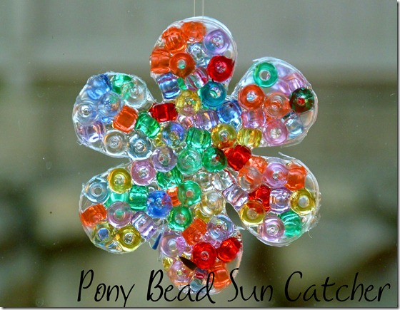 Pony Bead Sun Catcher 4