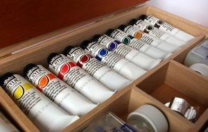 artist paint tubes
