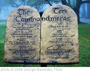 'The Ten Commandments' photo (c) 2008, George Bannister - license: http://creativecommons.org/licenses/by/2.0/