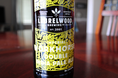 image of Laurelwood Imperial Workhorse Imperial IPA courtesy of our Flickr page