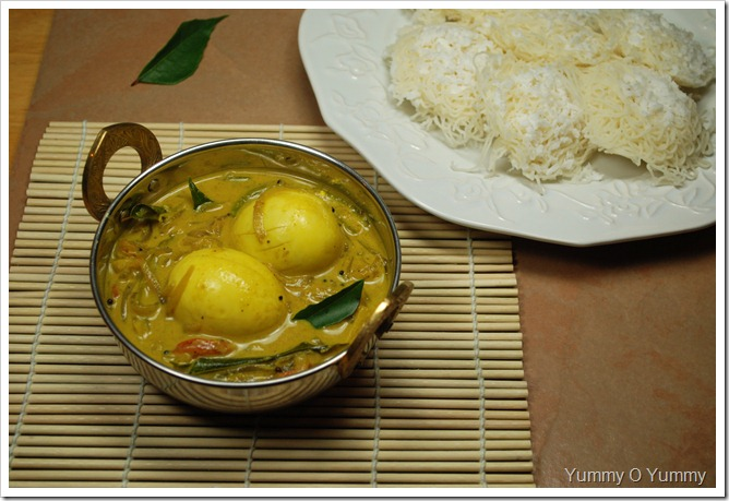 Mutta - Thenga Pal Curry