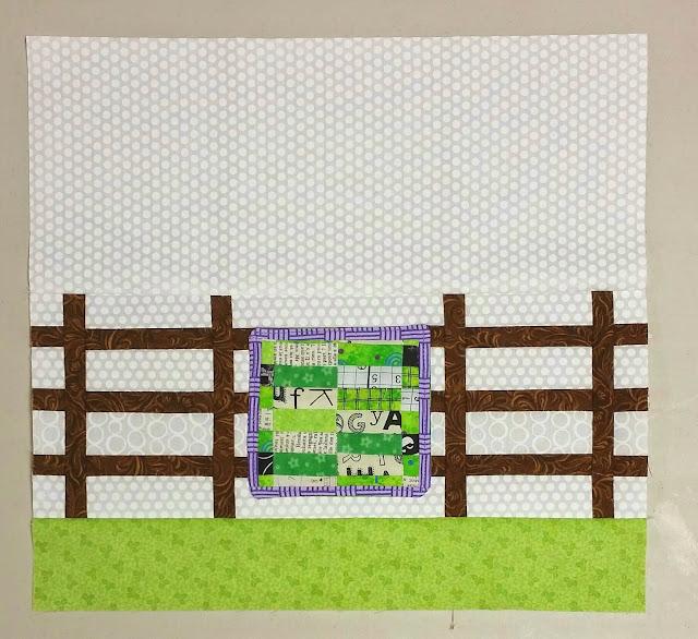 Rail Fence Block - Quilter's Garden