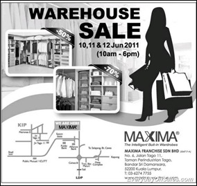 maxima-warehouse-2011-EverydayOnSales-Warehouse-Sale-Promotion-Deal-Discount