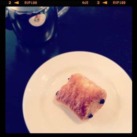 #70 - Mini pain au chocolat from the hotel buffet