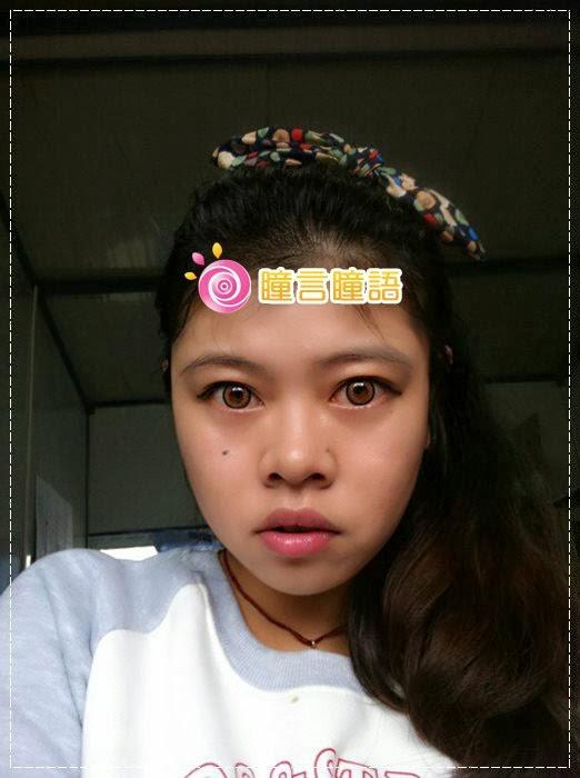 韓國GEO隱形眼鏡-GEO Holicat 荷麗貓仙女咖(Barbie Cat)12