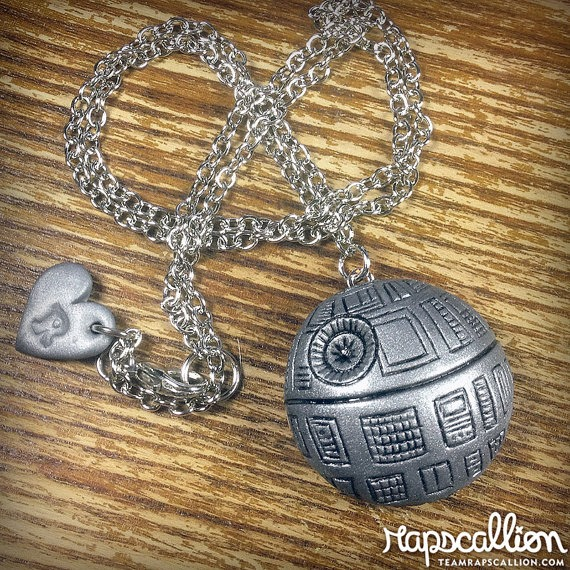 Death Star Inspired Locket from Rapscallion Design