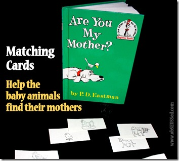 graphic relating to Are You My Mother Printable Book titled obSEUSSed: Are Your self My Mom? Printable Matching Recreation