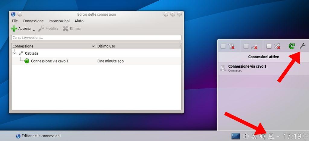 Kubuntu 14.04 - Network Manager