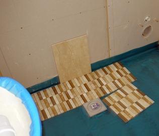 Wet Room - August 2011
