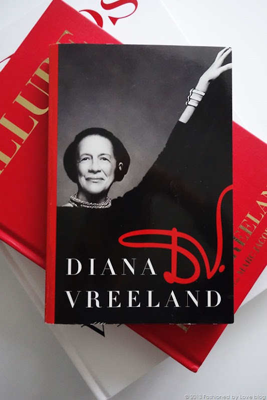 DV Diana Vreeland book review / best fashion books / via fashioned by love british fashion blog