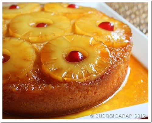 Pineapple upside down chiffon cake recipe