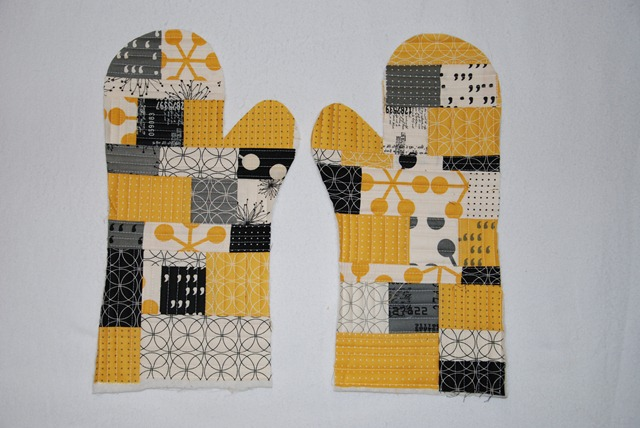 Handschuh für Brigitte wip