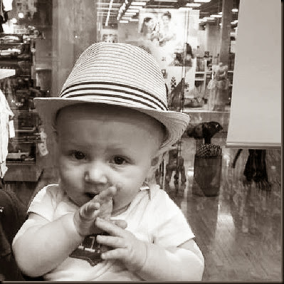 Zayne in hat