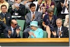 queen at tennis