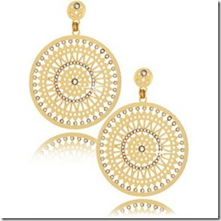 sun shaped earrings design
