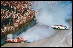 1976 daytona 500 petty pearson crash