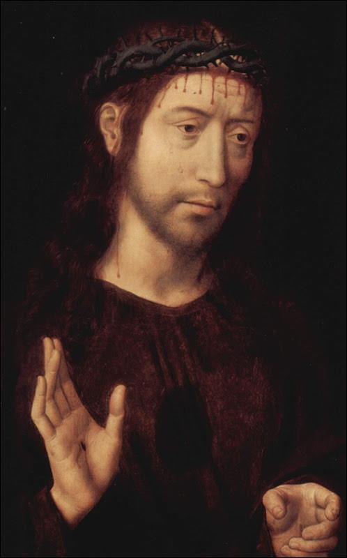 Memling, Christ à la couronne d'épines