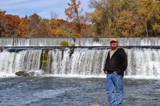 Tom at Grand Falls