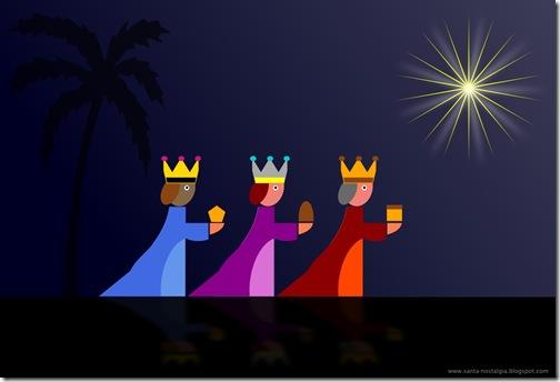 reis magos reis magos natal postal