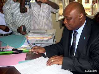 Willy Bafoa, Administrateur Dlgu de la Sokimo, dcembre 2010, Bunia RDC