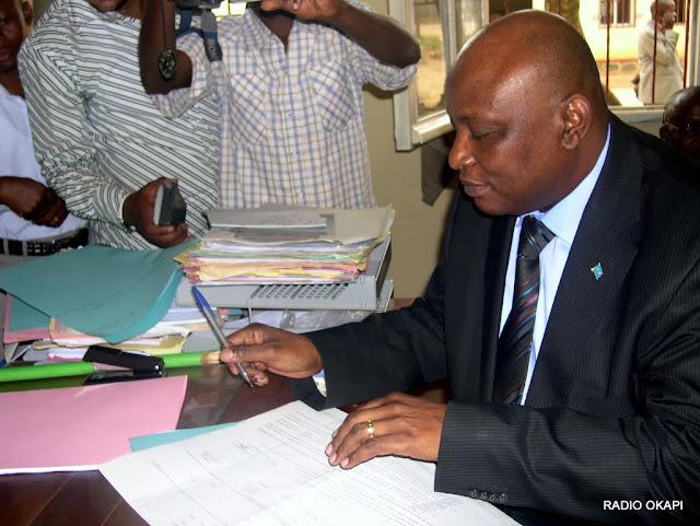 Willy Bafoa, Administrateur Délégué de la Sokimo, décembre 2010, Bunia RDC