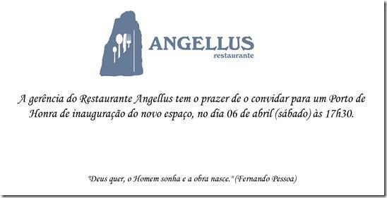 convite angellus 2013