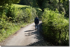 Hill Top hike narrow road