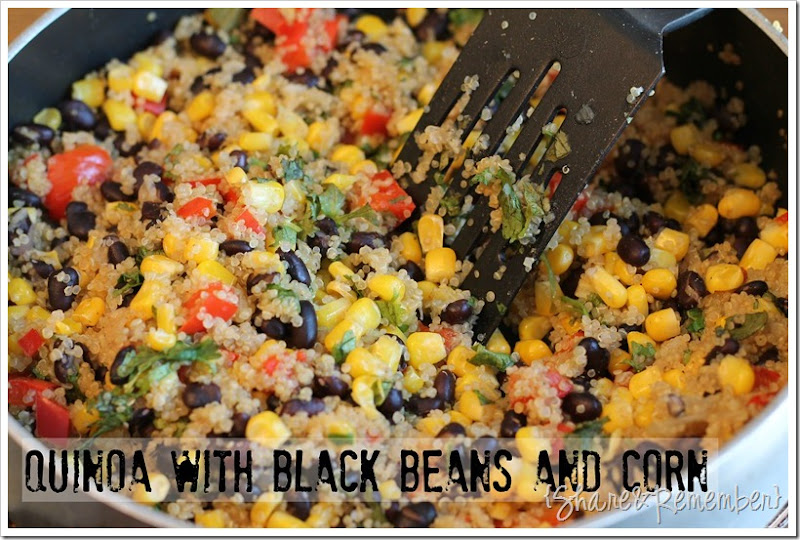 Quinoa with Black Beans & Corn