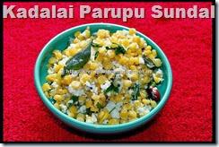 Kadalai Parupu Sundal