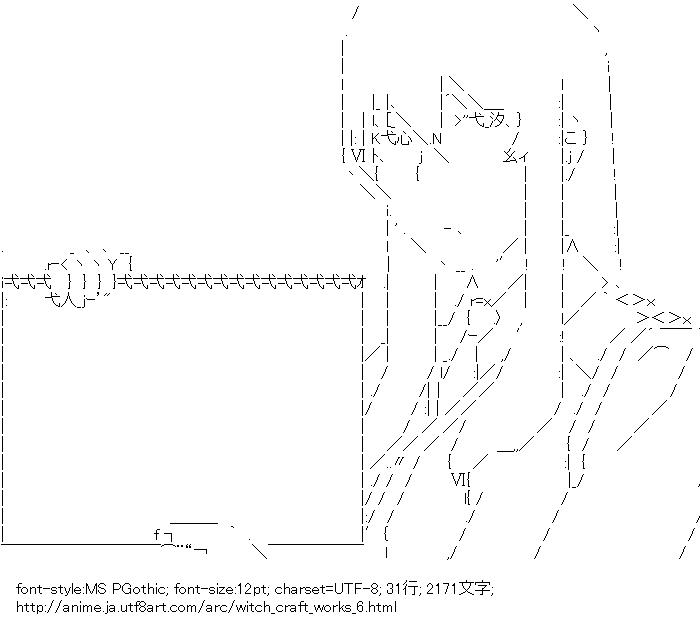ウィッチクラフトワークス,火々里綾火,メッセージボード